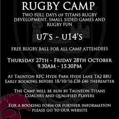 Taunton Titans Training Camp 2016