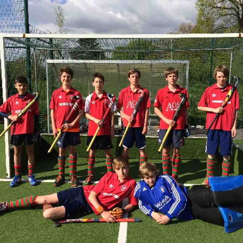 Marlow Evergreen Hockey Tour Easter 2014