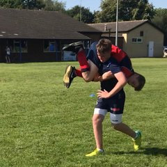 Cranleigh U15s. Start the 2018/19 season with fitness training.