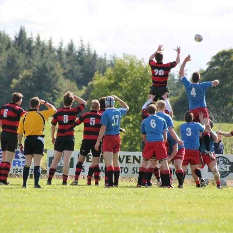 Duns 1st vs North Berwick (14th September 2013)