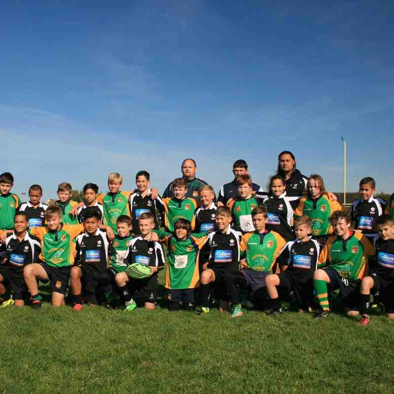 U12  v New Zealand touring side 2015