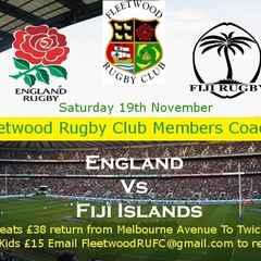 Fleetwood RUFC Members Coach trip to Twickenham