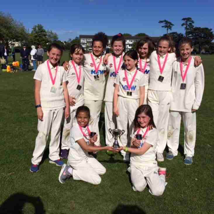 Girls under 11s win Lady Taverners