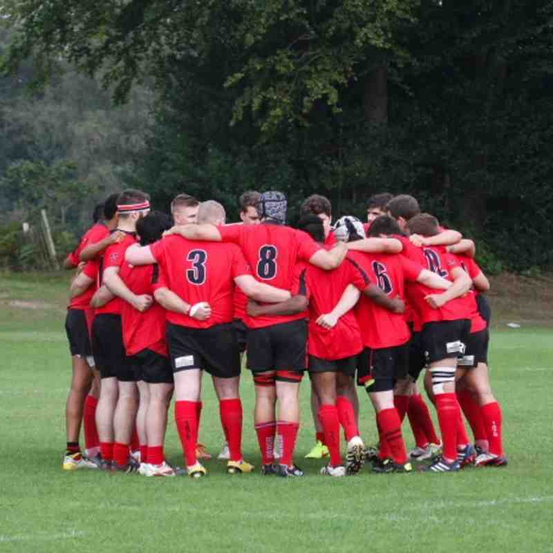 06.09.14 1XV Saracens vs Haselmere (1st Round Cup)