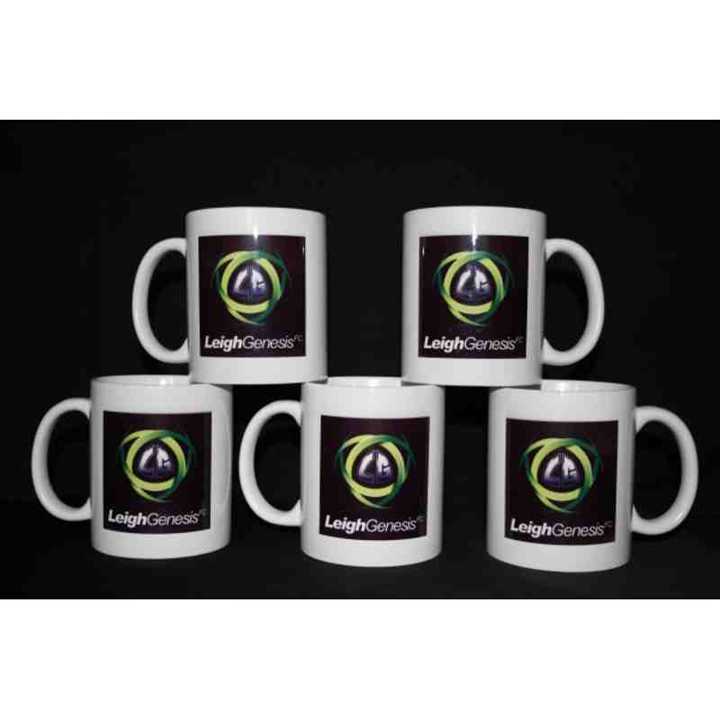 Leigh Genesis Club Mugs
