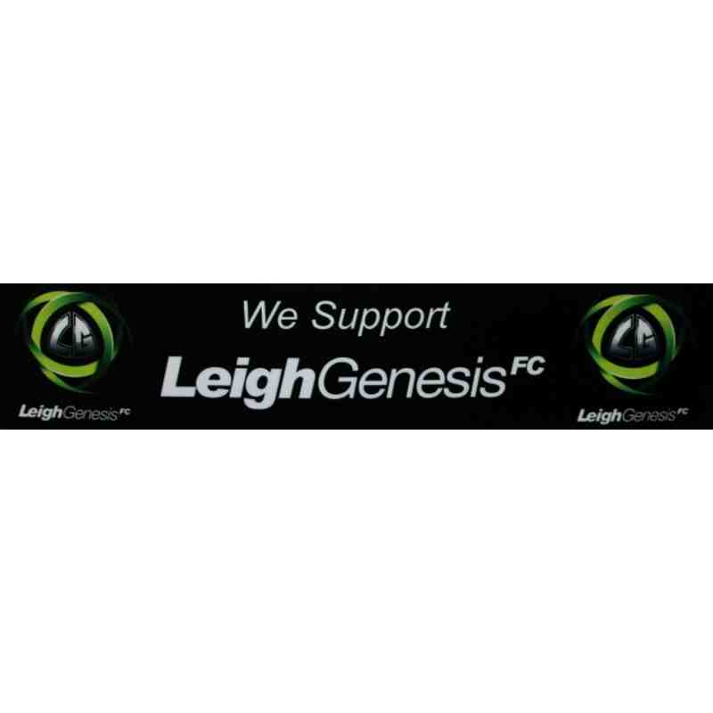 Leigh Genesis Club Car Sticker