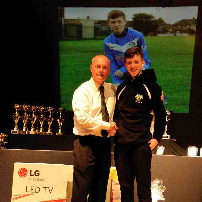 Leigh Genesis F.C 5 Year Long Service Award Winners