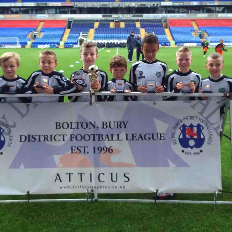 U9 Charge at macron stadium cup final