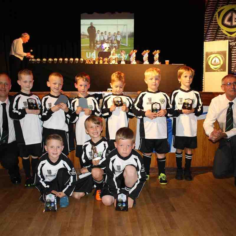 Leigh Genesis Presentation Night 17/6/16  U6S, U7S.U8S.U9S