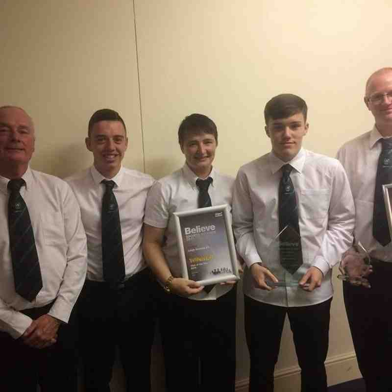 Wigan Believe Sports Awards 2016