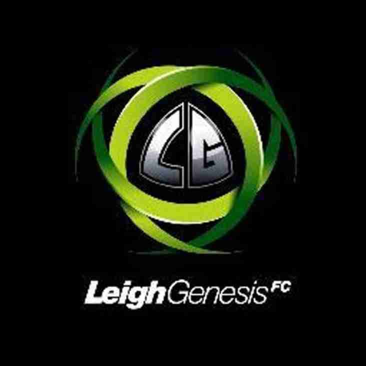 Leigh Genesis Open Age Pre Season About To Get Underway...