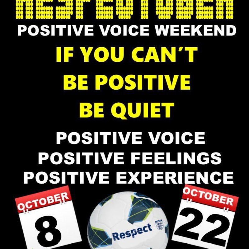 GENESIS TO SUPPORT 'POSITIVE VOICE' WEEKEND....