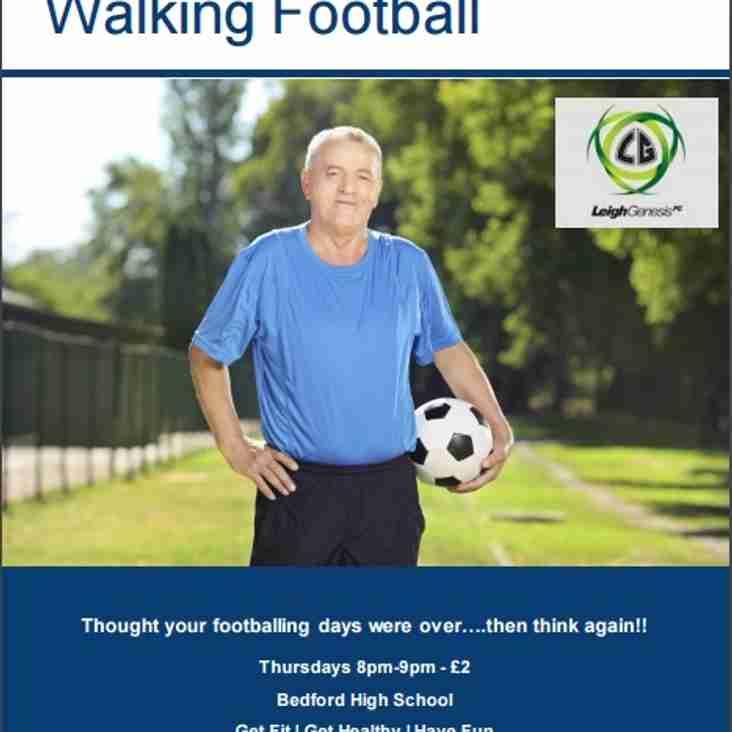 Leigh Genesis F.C Proud to Present Walking Football...