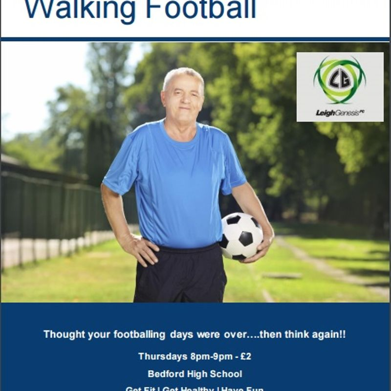 Leigh Genesis F.C Proud to Present Walking Football...