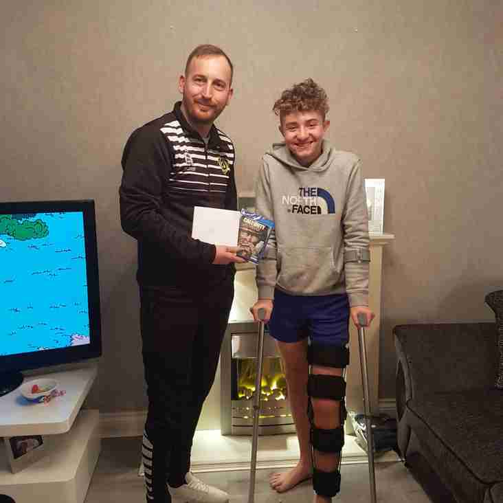 U16 Solar Jake Moore On The Road To Recovery...
