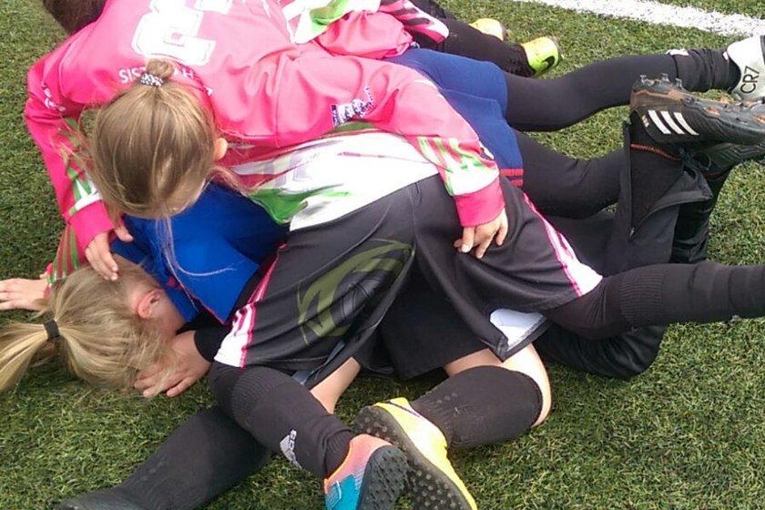 U9 Rockets Girls into BBDFL Girls Cup Final...