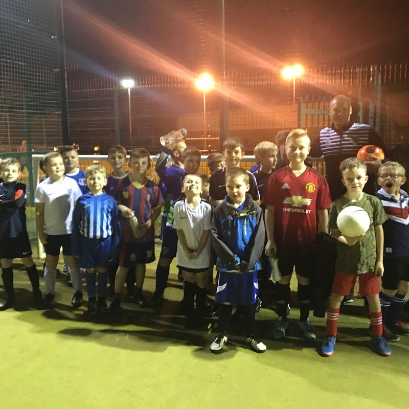 Soccer Academy Aged 8-12 is flying...