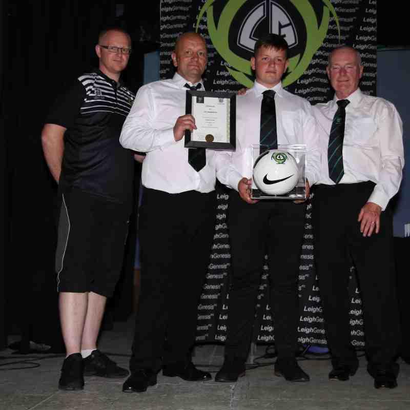 Leigh Genesis 10 Year Long Service Award Winners