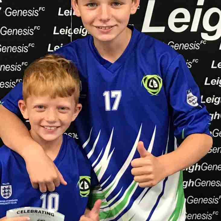 Genesis youngster Harrison Reaches the 100 Mark For Genesis...
