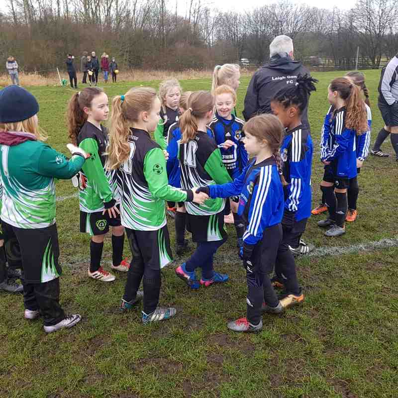 U9 Asteroid Girls v Pennington Girls BBDFL Quarter final (10/2/19)