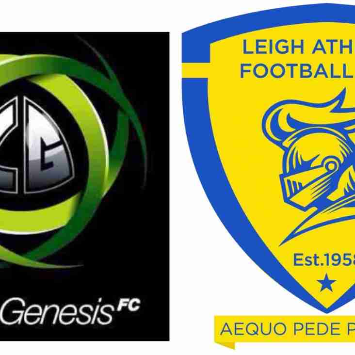 Leigh Genesis and Athletic look to the future...