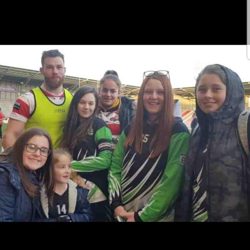 U14 Sonics Girls @ Leigh Centurions