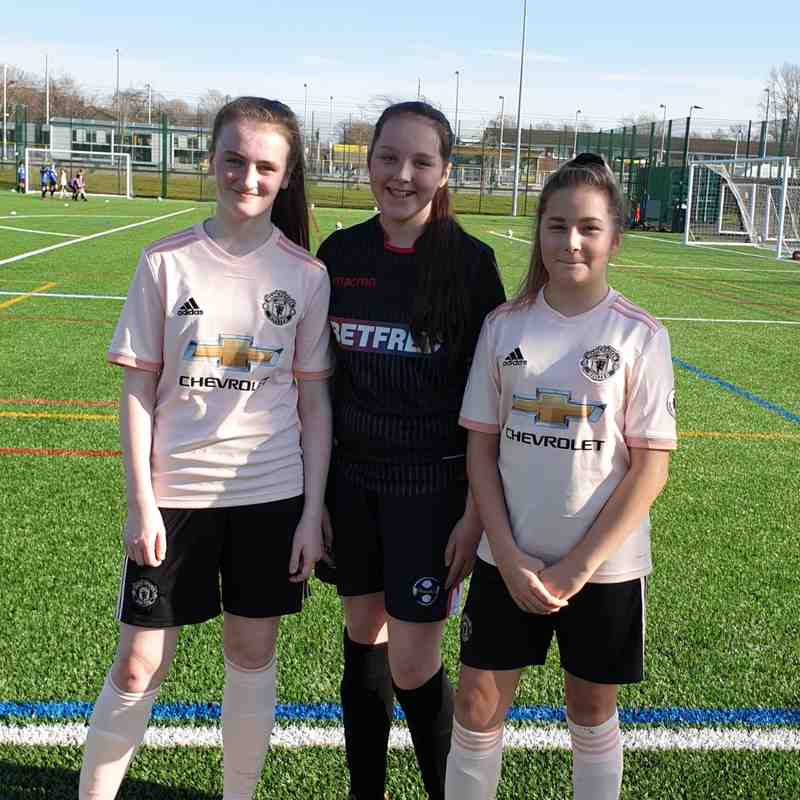Genesis Girls @ Manchester United Workshop 22/2/19