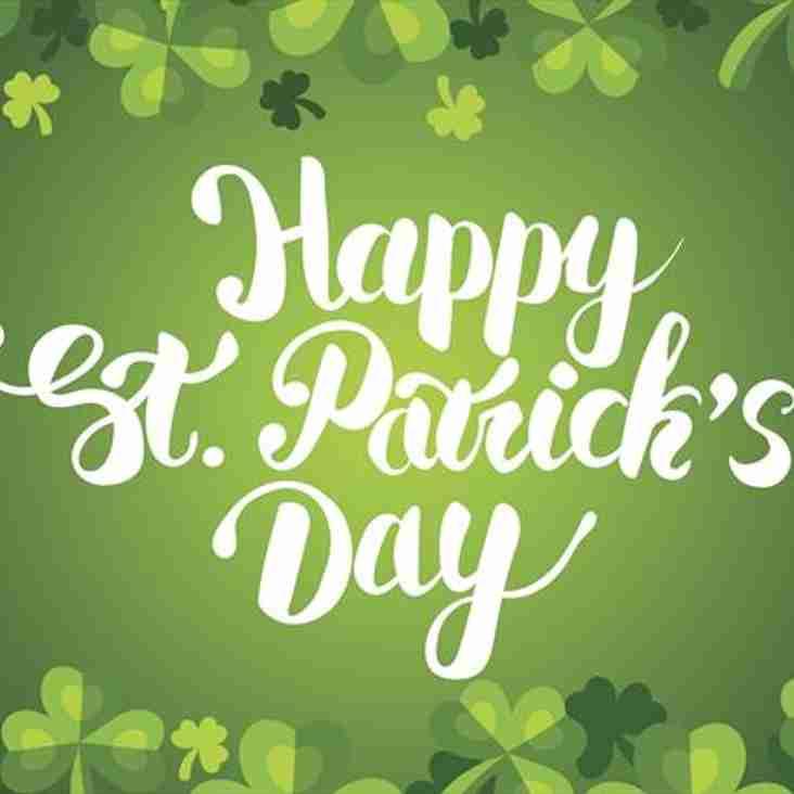 Happy St Patrick's day...