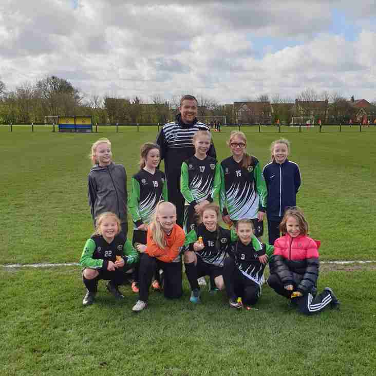 U10 Rockets into the BBDFL Cup Final...