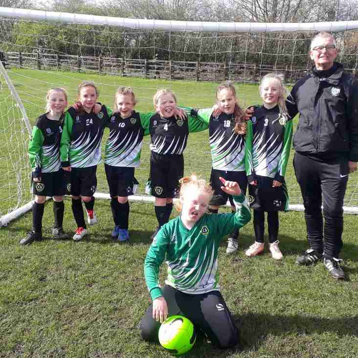 U9 Asteroids ease into the BBDFL Cup Final...