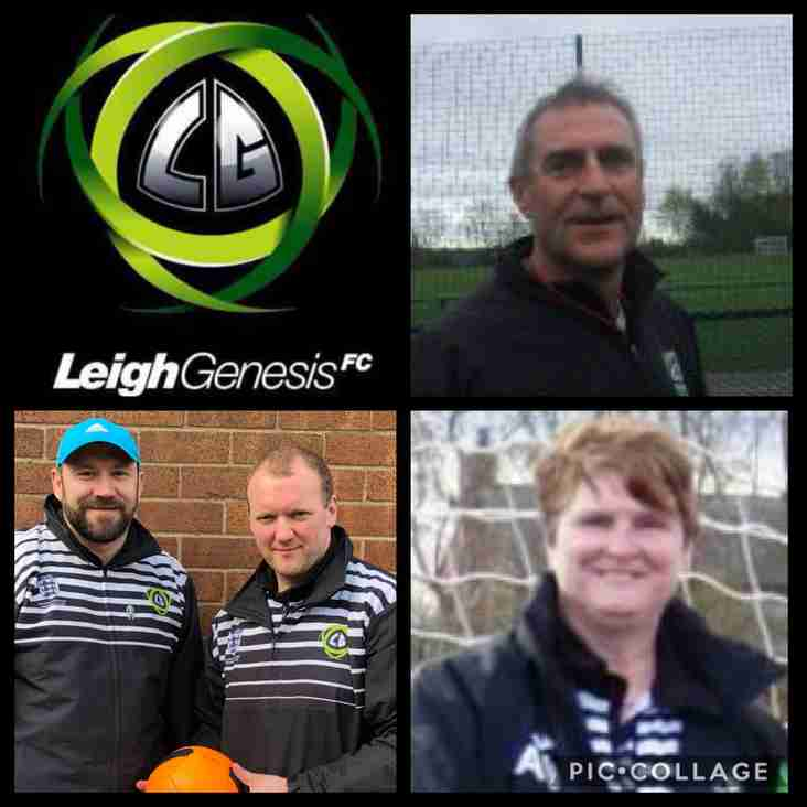 Pathways into Football @ Leigh Genesis F.C...