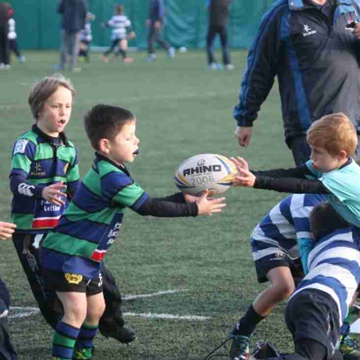 U9's First competitive action of new season