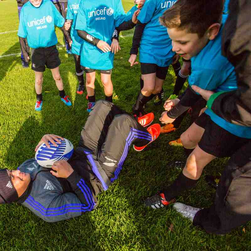 All Blacks Unicef Masterclass