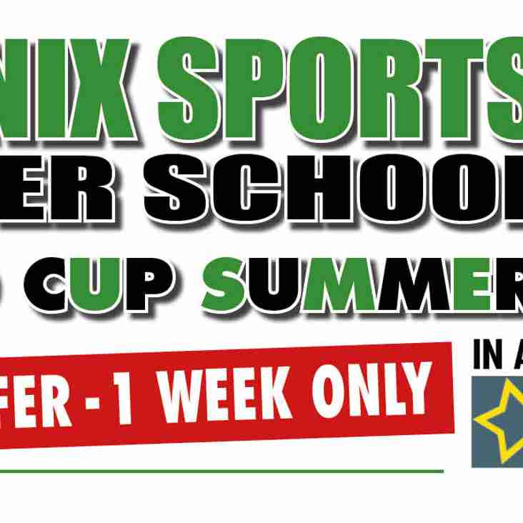 Summer Soccer School Special Offer!!!