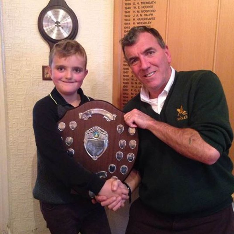 Young Tommy Miller Win Hornets' Golf Day