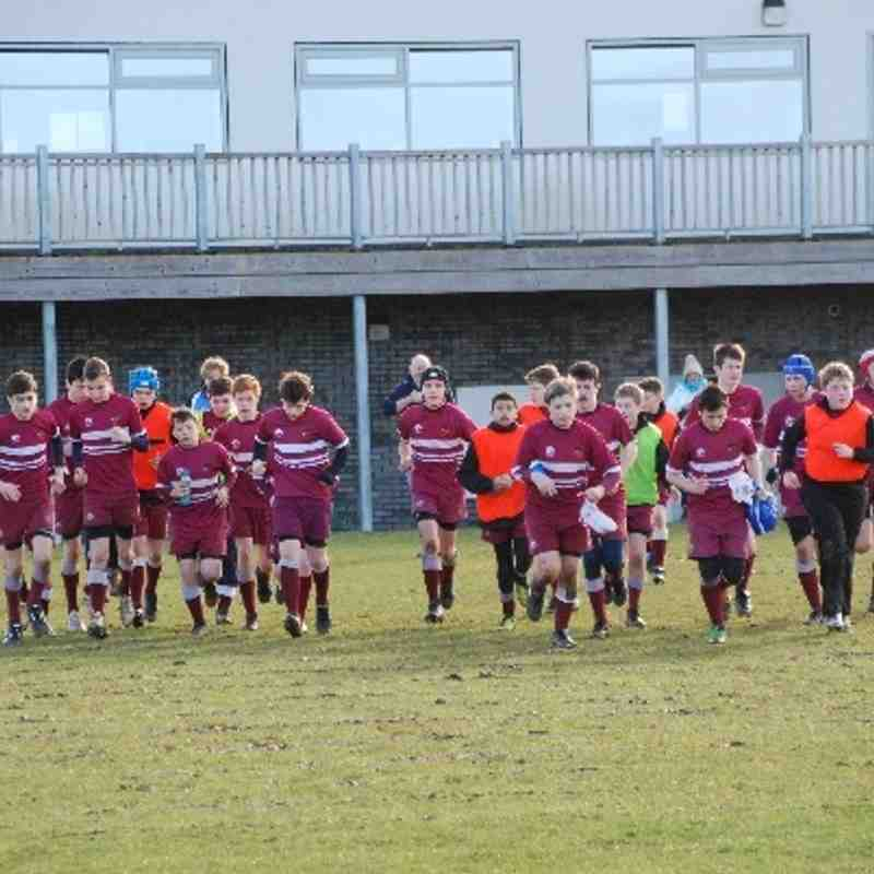 A&C Under 14s Cup Semi-Final v Bletchley