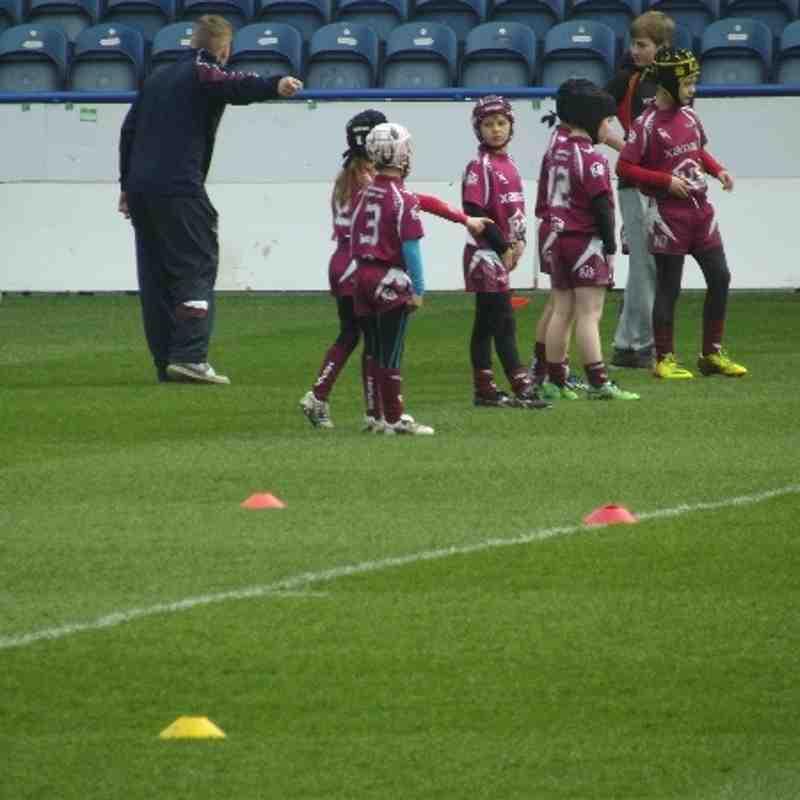 Thornhill Trojans U8s Curtain Raiser Huddersfield Giants VS Warrington