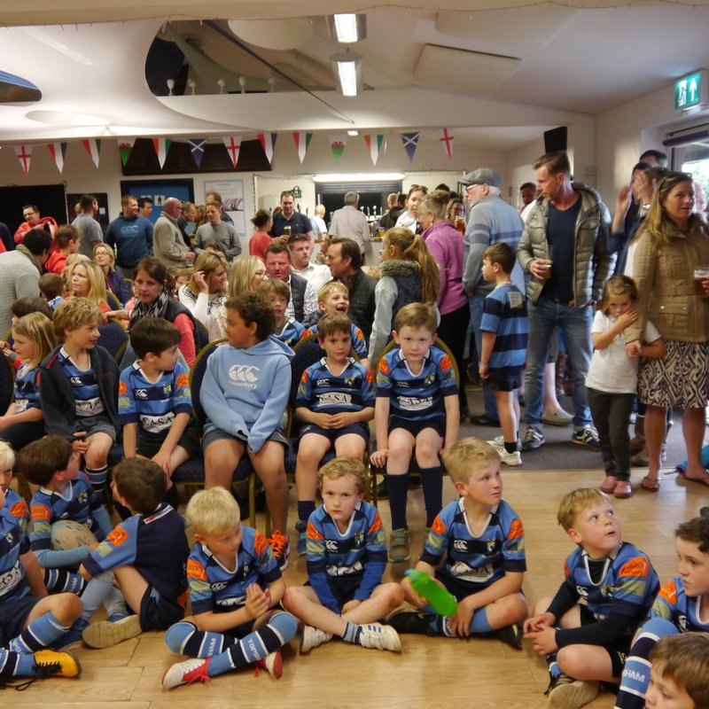 U6s - U12s Presentation Evening (10th May 2018)