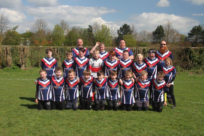 SAS U13s beat Whistable 15 - 2