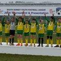 U13 beat Bookham Colts Pumas 4 - 2
