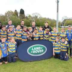 U12's conquer all at WASPS Festival