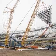 Floodlight construction starts on 11th July