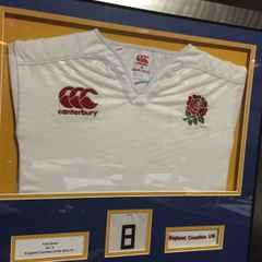 Tom Dodd England Shirt