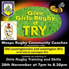 Girls Rugby with WASPS on 28th November