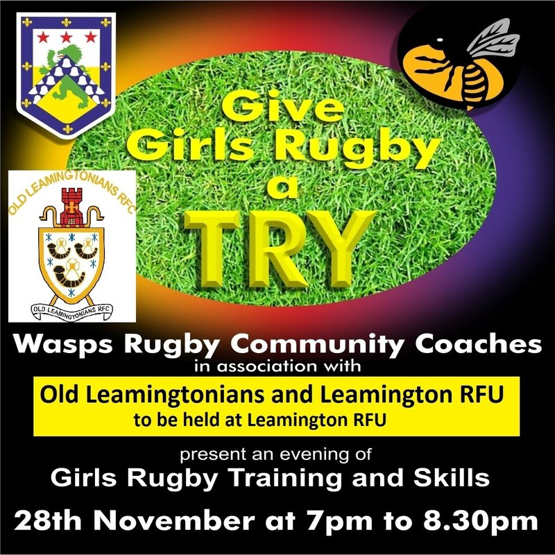 Girls rugby - give it a Try
