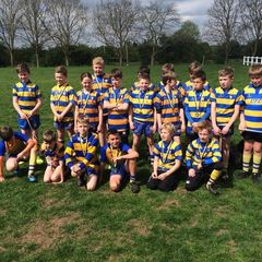 U10's end of season team picture