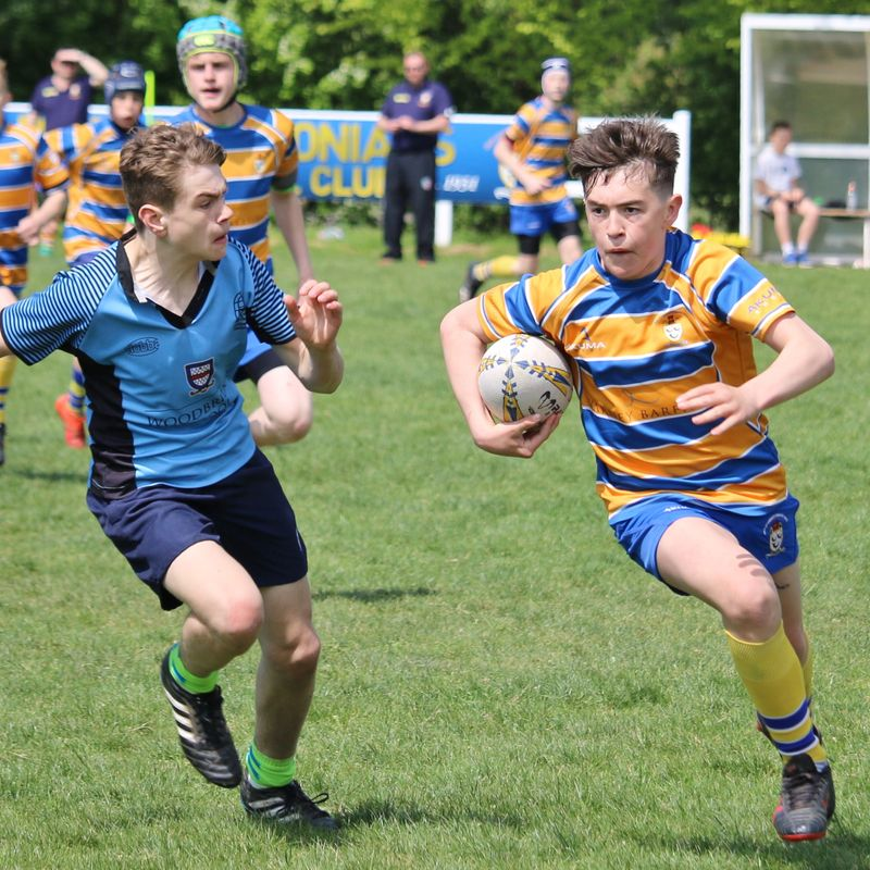 OL's Juniors compete in Warwickshire Cup