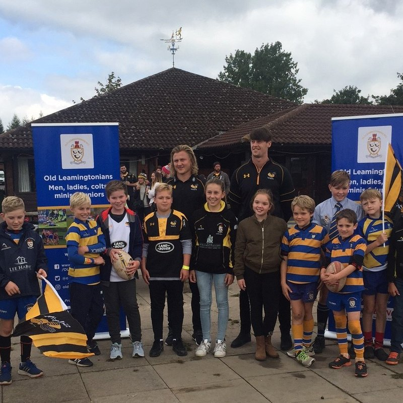 OLs Visited By Wasps Players