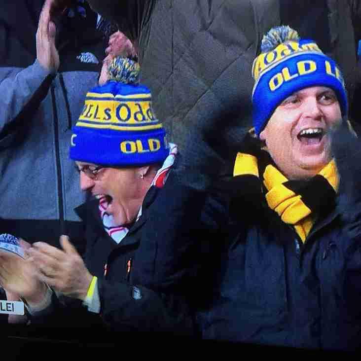 OL's proud supporters of ODDBALLS