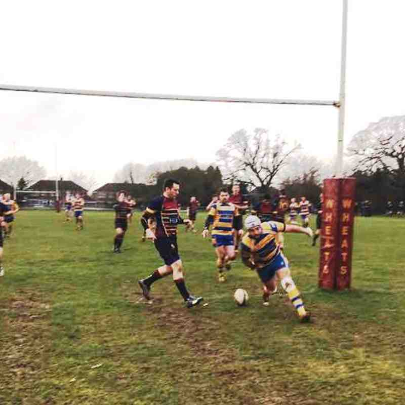 1st XV 13TH January